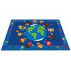 Kid Carpet World Character Classroom Kids Rug