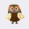 Scantrends Ferm Living Kids Owl Cotton Pillow