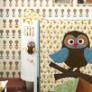 Scantrends Ferm Living Kids Owl Quilted Cotton Blanket
