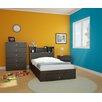Nexera Pocono Platform Customizable Bedroom Set