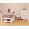 Nexera Dixie Storage Platform Customizable Bedroom Set