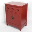 Heather Ann Creations Wooden Cabinet with 1 Drawer and 2 Doors