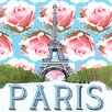 GreenBox Art Take Me Away Paris by Shelly Kennedy Painting Print on Wrapped Canvas