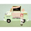 "GreenBox Art ""Ice Cream Truck"" by Rachel Mosley Graphic Art on Canvas"