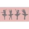"GreenBox Art ""Ballerina Girls"" by Patti Rishforth Graphic Art on Canvas"