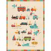"""GreenBox Art """"Transportation A to Z"""" by Irene Chan Graphic Art on Canvas"""
