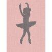 "GreenBox Art ""Ballerina Face Left"" by Patti Rishforth Graphic Art on Canvas"