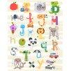 "GreenBox Art ""Iconic Alphabet"" by Jill McDonald Graphic Art on Canvas"