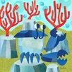 Oopsy Daisy Marine Munchkins - Crab Canvas Art