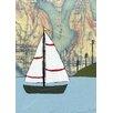 Oopsy Daisy Lake Union Sailboat Canvas Art