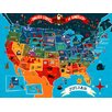 Oopsy Daisy America The Beautiful by Johnny Yanok Personalized Canvas Art