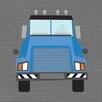 Oopsy Daisy Ways to Wheel Mac Truck by Vicky Barone Canvas Art