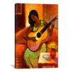 """iCanvas """"Ballad"""" by Keith Mallett Painting Print on Canvas"""
