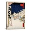 iCanvas 'Bikuni Bridge' by Ando Hiroshige Graffic Art on Canvas