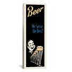 iCanvas Beer We Serve the Best Vintage Advertisement on Canvas