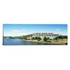 iCanvas Panoramic Buildings along a River, Potomac River, John F. Kennedy Center for The Performing Arts, Washington, D.C Photographic Print on Canvas