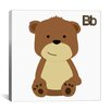 iCanvas Kids Art B is for Bear Graphic Canvas Wall Art