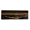 iCanvas Panoramic Aerial View of a Cityscape, Los Angeles, California 2010 Photographic Print on Canvas