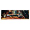 iCanvas Panoramic Manhattan, Radio City Music Hall, New York City, New York State Photographic Print on Canvas