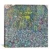 "iCanvas ""Garden Landscape on the Hill"" Canvas Wall Art by GustavKlimt"