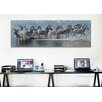 iCanvas 'Flight of the Zebras' by Pip McFarry Photographic Print on Canvas