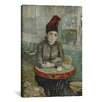 iCanvas 'In the Cafe - Agostina Segatori in Le Tambourin' by Vincent van Gogh Painting Print on Canvas