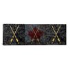 iCanvas Canada Hockey Sticks Panoramic Graphic Art on Canvas