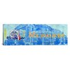 iCanvas Milwaukee Flag, Miller Park Panoramic Graphic Art on Canvas