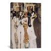 iCanvas 'Die Gorgonen Und Typhoeus' by Gustav Klimt Painting Print on Canvas