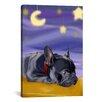 iCanvas 'French Sleep' by Brian Rubenacker Graphic Art on Canvas