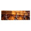 iCanvas Panoramic Close-up of Statues in a Temple, Grand Palace, Bangkok, Thailand Photographic Print on Canvas