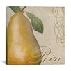 "iCanvas ""Fruits Classique II (Pear)"" Canvas Wall Art by Color Bakery"