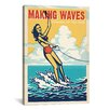 iCanvas 'Making Waves' by Anderson Design Group Vintage Advertisement on Canvas