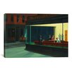 iCanvas Nighthawks, 1942 by Edward Hopper Painting Print on Canvas