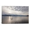 iCanvas 'Sailing at Sunset, Alaska '09' by Monte Nagler Photographic Print on Wrapped Canvas