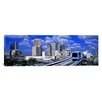 iCanvas Panoramic Metro Mover Shuttle Miami, Florida Photographic Print on Canvas