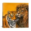 "iCanvas ""Lion and Tiger"" by Harro Maass on Canvas"