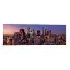 iCanvas Panoramic 'Los Angeles Skyline Cityscape (Sunset)' Photographic Print on Canvas