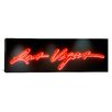 iCanvas Panoramic Las Vegas Sign, Las Vegas Convention Center, Nevada Graphic Art on Canvas