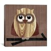 "iCanvas ""Owl 2"" Canvas Wall Art by Erin Clark"