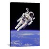 iCanvas Astronomy and Space 'NASA Astronaut' Photographic Print on Canvas