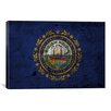 iCanvas Flags New Hampshire Graphic Art on Canvas