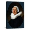 iCanvas 'Portrait of Van Haesje v. Cleyburg 1634' by Rembrandt Painting Print on Canvas