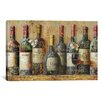iCanvas Wine Collection Painting Print on Canvas