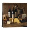"iCanvas ""Wine and Cheese"" Canvas Wall Art by Michael Harrison"