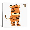iCanvas Kids Art Tiger Graphic Canvas Wall Art