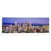 iCanvas Panoramic Seattle, Washington State Photographic Print on Canvas