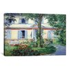 iCanvas 'The House at Rueil' by Edouard Manet Painting Print on Canvas