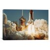 iCanvas Space Shuttle Challanger Lift off (1983) Canvas Wall Art