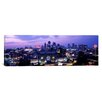 iCanvas Panoramic Union Station at Sunset with City Skyline in Background, Kansas City, Missouri Photographic Print on Canvas